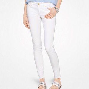 Michael Kors • White Skinny Jeans